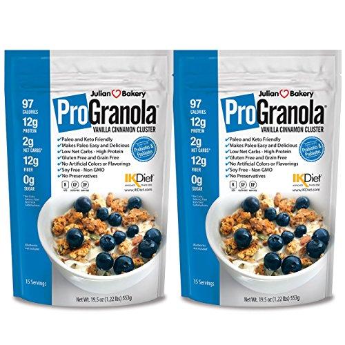 ProGranola 12g Protein Cereal Vanilla Cinn (Paleo...