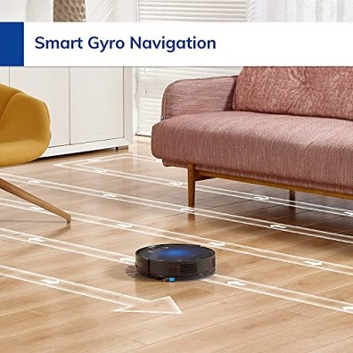 ILIFE-B5Max-Robot-VacuumWi-Fi-Connected-2000Pa-Strong-SuctionPath-Pattern-Vacuum-and-Mop50ml-Water-TankLarge-Dustbin-Vacuum-Bags-Zigzag-Cleaning-PathSelf-Charging-Ideal-for-Hard-Floor