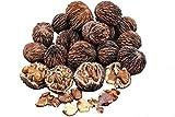 BlueApe LLC Missouri Harvest Fresh Whole Black Walnuts 2018 3 Pounds in Shell Organic Perfect Squirrel Food - Black Walnut Tree Seeds - Juglans Nigra