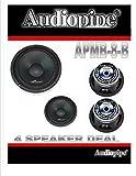 Audiopipe (4) APMB-8-B 8' Full Range CAR Audio DJ Loudspeaker Low-MID Range