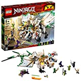 LEGO Ninjago Legacy The Ultra Dragon 70679 Building Kit , New 2019 (951 Piece)