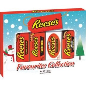 Reese's Favourites Collection - Christmas Selection Gift Box - 168g