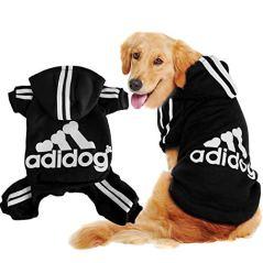 Scheppend-Original-Adidog-Big-Dog-Large-Clothes-Sport-Hoodies-Sweatshirt-Pet-Winter-Coat-Retriever-Outfits-Black-8XL