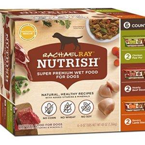 Rachael Ray Nutrish Natural Wet Dog Food 6