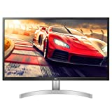 LG 27UL650-W 27 Inch 4K UHD LED Monitor with VESA DisplayHDR 400, White