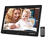 Beschoi 10 inch Digital Photo Frame HD LED Picture Videos Frame with Motion Sensor, MP3/Calendar/Clock/E-book
