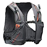 Nathan NS4535 Vaporkrar Hydaration Pack Running Vest with 1.8L Bladder, Steel Grey, Medium