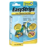 Tetra EasyStrips 6-in-1 Aquarium Test Strips, 25-Count