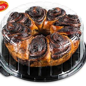 Stern's Bakery Hungarian Chocolate Babka Cake -32 oz Babka Bread Traditional Jewish Pastry Unique Holiday Gourmet Cookie Gift Christmas, Valentine or Thanksgiving / Gift Idea for Men Women and Family 51tZyl7QSbL