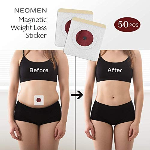 Weight Loss Sticker, Fat Burning Adhesive Sticker Magnets, For Beer Belly, Buckets Waist, Waist Abdominal Fat, Quick Slimming (50 Pcs) 11