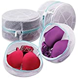 Plusmart Bra Laundry Bag, Mesh Laundry Bag for Delicates, Bra Washing Bag for D to G Cup,3 Pack