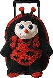 Kreative Kids 38210 Plush Lady Bug Roller Backpack w/ Removable Stuffed Animal