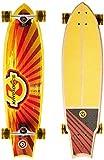 Kryptonics 34' Swallowtail Longboard Complete Skateboard - Cali Dream Graphic