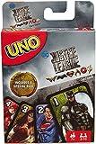Mattel Uno Juego de Cartas Games, Justice League