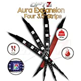 4pc - OPT7 Aura LED Expansion Pack - 3.5' Inline Strips with Splitters and Extensions