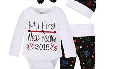 b394765269d4 FocusNORM 4 pcs Baby Girls Pants Set