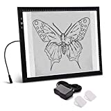 A3 Light Box Light Pad Aluminium Frame Touch Dimmer 11W Super Bright Max 3000 Lux with Free Carry/Storage Bag 2 Years Warranty (A3 Light pad)