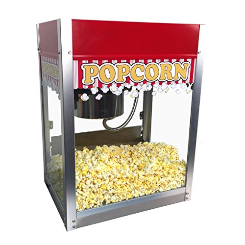 Paragon Standard Pop Popcorn Machine, 8-Ounce