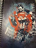 "DC Comics Superman Man of Steel Spiral Notebook ~ Man of Steel Premiere (5"" x 7""; 100 Sheets, 200 Pages)"