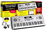eMedia Piano Keyboard Starter Pack For Dummies (61-key USB-MIDI keyboard with piano lessons)