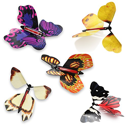 heytech Magic Flying Butterfly Great Surprise Gift(5 Packs)