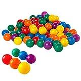 Intex 2-1/2' Fun Ballz - 100 Multi-Colored Plastic Balls, for Ages 2+