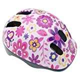 BeBeFun Intant/Toddler/Youth Size CPSC Certificated Kids Adjustable Bike/Cycling Helmet for Boy and Girl Sports Safety Helmet (Flower, S(18.5'-20.5'))