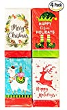 Christmas Lunch Napkins Classic and Funny Holiday variety pack Guest paper napkins assorted 56 Napkins