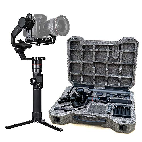 FeiyuTech-AK4000-Camera-Stabilizer-3-Axis-Gimbal-Handheld-for-DSLR-Mirrorless-Cameras-up-to-88-lbs-4kg-Payload-for-Sony-Panasonic-Lumix-Nikon-Canon-Camera