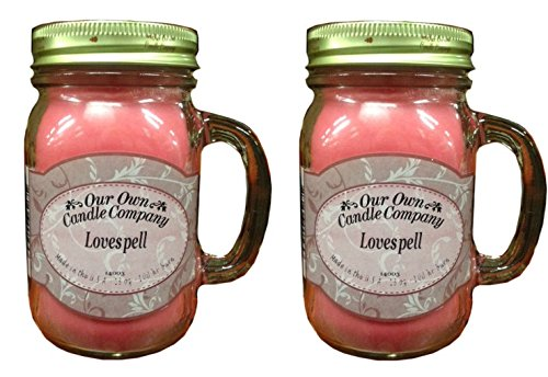 Our OWN Candle CO. SICI-LS Candle Jar 100Hr Love Spell