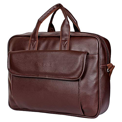 SASSIE LENOVO Leatherette 12 L Laptop Messenger Bag (Brown) 95