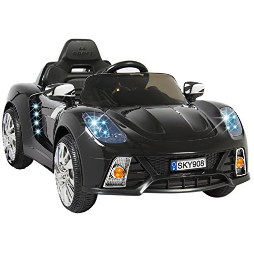 Best Choice Products Kids 12V Ride On Car with MP3 Electric Battery Power Remote Control, Black