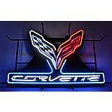 Neonetics Corvette C7 Stingray Neon Sign with Backing