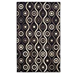 Superior Archer Collection Area Rug, 8mm Pile Height with Jute Backing,  Bold Modern Geometric Pattern, Fashionable and Affordable Rugs, 8' x 10' Rug