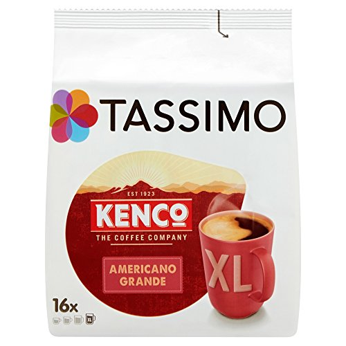 Tassimo Kenco Americano Grande Coffee Pods Pack Of 5 80 Pods In Total 80 Servings