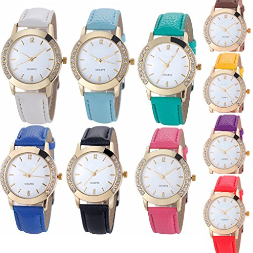 51tvz5bVmNL Package included: 10pcs women Watches Women's Jelly dress wristwatch Good idea for gift !