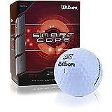 Wilson Sporting Goods Smart Core Golf Ball - Pack of 24 (White)