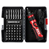 SKIL Rechargeable 4V Cordless Screwdriver with Circuit Sensor Technology &...