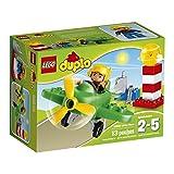 LEGO DUPLO Airport Little Plane 10808, Preschool, Pre-Kindergarten Large Building Block Toys for Toddlers