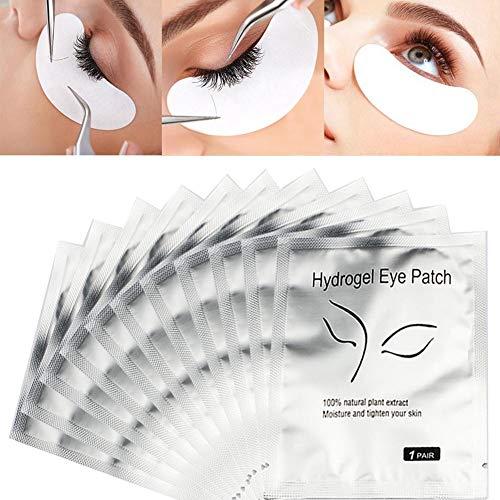 Fovolat 25 Pairs Eye Gel Pads,Eyelash Grafting Eyelash Pad Eyelash Extension Under Eye Patches for DIY False Eyelash Extension Makeup Supplies