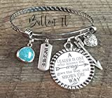 LEADERSHIP, Bangle bracelet, mentor, master teacher, preceptor, consultant, leadership gifts, BOSS gifts, INSPIRATIONAL jewelry, school leadership, ASB, manager gift, administrative week