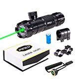 Pinty Hunting Rifle Green Laser Sight Dot Scope  5mw Adjustable with Mounts
