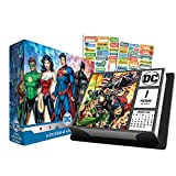 DC Comics 2019 Calendar, Box Edition Set - Deluxe 2019 DC Comics Day-at-a-Time Calendar with Over 100 Calendar Stickers (DC Comics Gifts, Office Supplies)