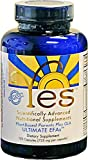 Yes Parent Essential Oils ULTIMATE EFAs 120 Capsules, Based On The Peskin Protocol, Organic Plant Based Ingredients, Omega 3 6, Vegetarian So No Fishy Aftertaste