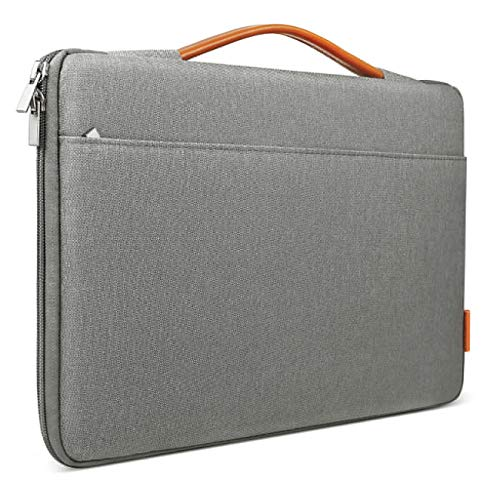 Inateck 14-14.1 Inch Laptop Sleeve Protective Bag Ultrabook Netbook Carrying Case Compatible 14 ThinkPad, 15'' MacBook Pro 2016-2018, Dell Inspiron, HP Chromebook 14, ASUS and More, Dark Gray