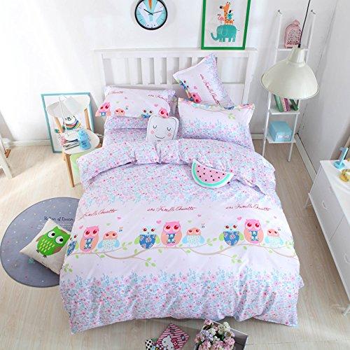 Auvoau Cartoon Bedding Sets Kids Bedding Girls Children s Duvet Cover Set. Auvoau Cartoon Bedding Sets Kids Bedding Girls Children s Duvet