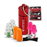 EarJoy Noise cancelling ear plugs With Aluminum Carry Case