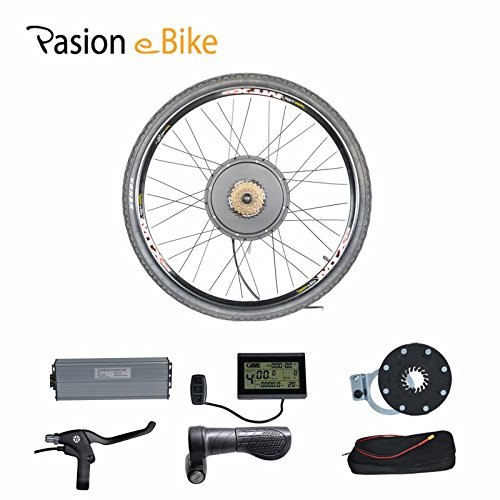 "Passion eBike 48V 1500W Motor Bicicleta Electric Bicycle Bike Conversion Kit for 29"" Rear Wheel"