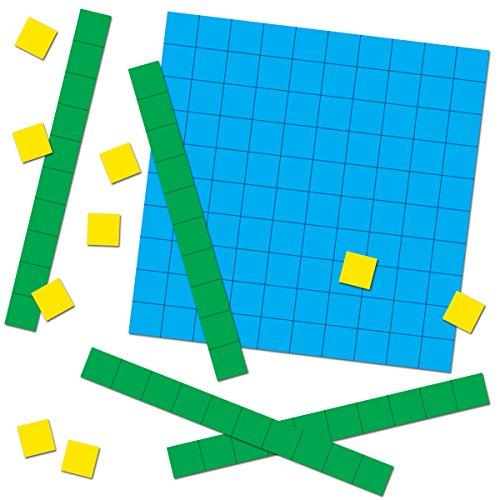 Carson Dellosa Base Ten Blocks Cut-Outs (120497)