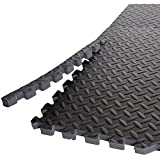 Gold's Gym High Impact Flooring Puzzle Mat, 6 Pieces